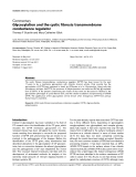 """Báo cáo y học: """" Glycosylation and the cystic fibrosis transmembrane conductance regulator"""""""