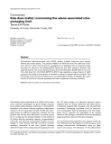 """Báo cáo y học: """"  Size does matter: overcoming the adeno-associated virus packaging limit"""""""