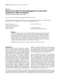 """Báo cáo y học: """"  Role of free radicals in the pathogenesis of acute chest syndrome in sickle cell disease"""""""