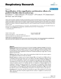 """Báo cáo y học: """"Quantification of the magnification and distortion effects of a pediatric flexible video-bronchoscope"""""""