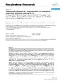 """Báo cáo y học: """"Titanium dioxide particle – induced goblet cell hyperplasia : association with mast cells and IL-13"""""""