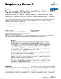 """Báo cáo y học: """"IL-4 increases type 2, but not type 1, cytokine production in cells from mild atopic asthmatics"""""""