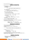 Kiến thức hóa hữu cơ lớp 11
