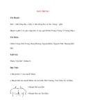 Lý thuyết Kinh mạch và Huyệt đạo: ĐẢN TRUNG