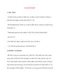 Lý thuyết Kinh mạch và Huyệt đạo: MẠCH ÂM KIỀU