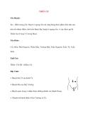 Lý thuyết Kinh mạch và Huyệt đạo: THIÊN XU