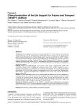 "Báo cáo y học: ""Clinical evaluation of the Life Support for Trauma and Transport (LSTAT™) platform Ken Johnson1, Frederick Pearce2, Dwayne"""