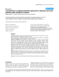 """Báo cáo y học: """"Conventional or physicochemical approach in intensive care unit patients with metabolic acidos"""""""