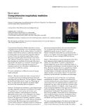 """Báo cáo khoa học: """"Comprehensive respiratory medicine"""""""
