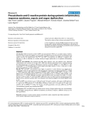 """Báo cáo khoa học: """"Procalcitonin and C-reactive protein during systemic inflammatory response syndrome, sepsis and organ dysfunctio"""""""