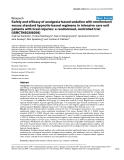 "Báo cáo khoa học: "" Safety and efficacy of analgesia-based sedation with remifentanil versus standard hypnotic-based regimens in intensive care unit patients with brain injuries: a randomised, controlled trial [ISRCTN50308308]"""