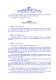 Luật quy hoạch đô thị