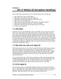 Kỹ thuật lập trình Java căn bản phần 7