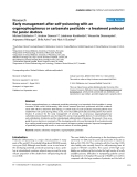 "Báo cáo y học: "" Early management after self-poisoning with an organophosphorus or carbamate pesticide – a treatment protocol for junior doctors"""