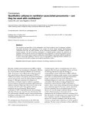 "Báo cáo y học: ""Qualitative cultures in ventilator-associated pneumonia – can they be used with confidence"""