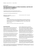 """Báo cáo y học: """" Recently published papers: A clinical conundrum, new from old and advances in ventilation'"""