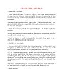 Đại cương Mạch Học: PHƯƠNG PHÁP CHẨN MẠCH