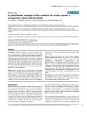"""Báo cáo khoa học: """"A quantitative analysis of the acidosis of cardiac arrest: a prospective observational study"""""""
