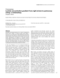 """Báo cáo khoa học: """"Lactate concentration gradient from right atrium to pulmonary artery: a commentary"""""""