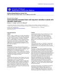 """Báo cáo khoa học: """"Corticosteroids increased short and long-term mortality in adults with traumatic head injury"""""""