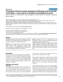 """Báo cáo khoa học: """"Prolonged refractory status epilepticus following acute traumatic brain injury: a case report of excellent neurological recovery"""""""