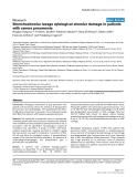 "Báo cáo khoa học: ""Bronchoalveolar lavage cytological alveolar damage in patients with severe pneumonia"""