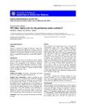 "Báo cáo khoa học: ""PAC-Man: Game over for the pulmonary artery catheter"""