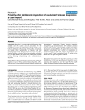 """Báo cáo khoa học: """"Fatality after deliberate ingestion of sustained-release ibuprofen: a case report"""""""