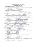 8 Đề thi HK2 môn Hóa 12 - Kèm đáp án