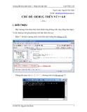 Cách hướng dẫn thực hành tuần 2 - Nhập môn lập trình - Chủ đề DEBUG trên VC++ 6.0