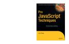 Pro  JavaScript Techniques phần 1