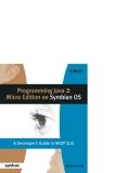 Programming Java 2 Micro Edition on Symbian OS A developer's guide to MIDP 2.0 phần 1