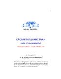 Các đề thi olympic toán châu Á Thái Bình Dương