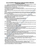 VẤN ĐỀ PHÁT TRIỂN KINH TẾ, AN NINH QUỐC PHÒNG Ở BIỂN ĐÔNG VÀ CÁC ĐẢO, QUẦN ĐẢO