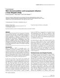 "Báo cáo y học: ""Skin microcirculation and vasopressin infusion: a laser Doppler study"""