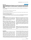 """Báo cáo y học: """"Early identification of intensive care unit-acquired infections with daily monitoring of C-reactive protein: a prospective observational study"""""""
