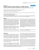 Arterial catheter-related infection of 2,949 catheters