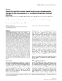 """Báo cáo y học: """"Bench-to-bedside review: Hyperinsulinaemia/euglycaemia therapy in the management of overdose of calcium-channel blockers"""""""