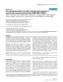 "Báo cáo y học: ""Pro-adrenomedullin to predict severity and outcome in community-acquired pneumonia [ISRCTN04176397]"""