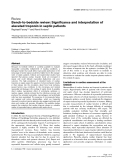 """Báo cáo y học: """"Bench-to-bedside review: Significance and interpretation of elevated troponin in septic patients"""""""