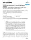 Retrovirology Short report  BioMed Central  Open Access  Increased neutrophil apoptosis in