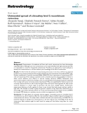 "Báo cáo y học: ""  Unintended spread of a biosafety level 2 recombinant retrovirus"""