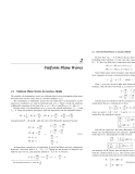 Electromagnetic Waves and Antennas combined - Chapter 2