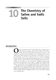 Environmental Soil Chemistry - Chapter 10