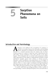 Environmental Soil Chemistry - Chapter 5