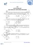 Đề 4: bài tập công suất mạch điện xoay chiều không phân nhánh