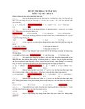 ĐỀ ÔN THI ĐH & CĐ NĂM 2011 MÔN : VẬT LÍ - Đề số 1