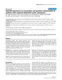"""Báo cáo khoa học: """"HLA-DR expression on monocytes and systemic inflammation in patients with ruptured abdominal aortic aneurysms"""""""