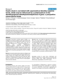 """Báo cáo khoa học: """"Septic shock is correlated with asymmetrical dimethyl arginine levels, which may be influenced by a polymorphism in the dimethylarginine dimethylaminohydrolase II gene: a prospective observational study"""""""