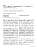 "Báo cáo khoa học: ""Oral decontamination with chlorhexidine reduces the incidence of nosocomial pneumonia"""